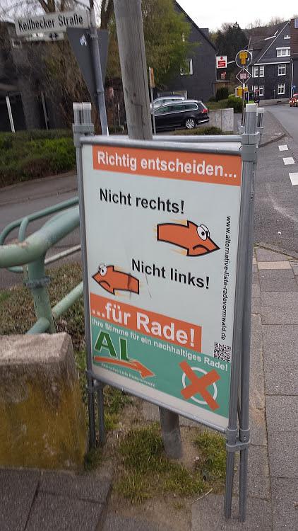 AL-Plakat