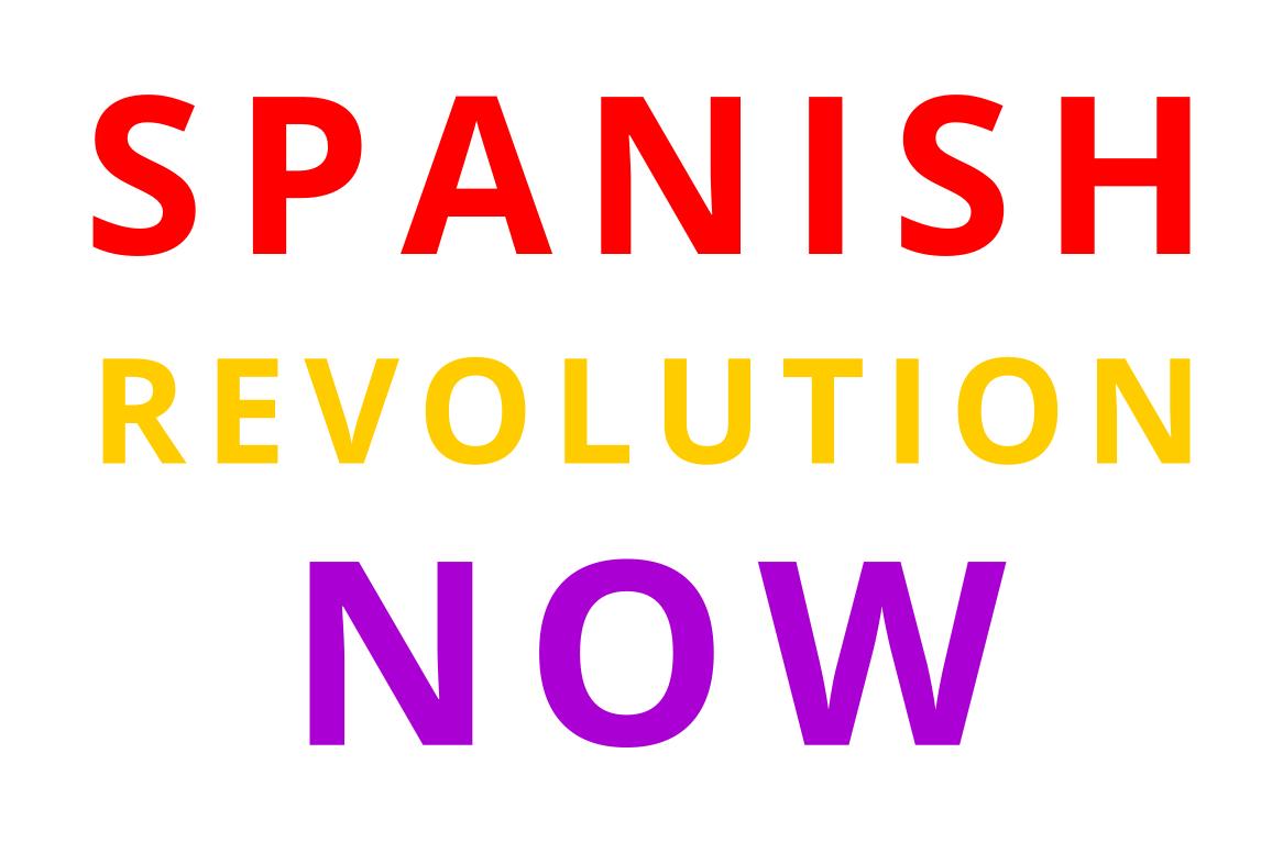 Eine Botschaft der Spanier an Deutschland