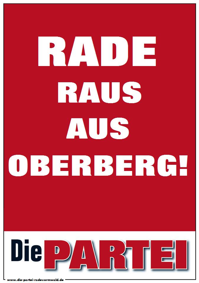 DiePARTEI-Rade_Raus-aus-Oberberg